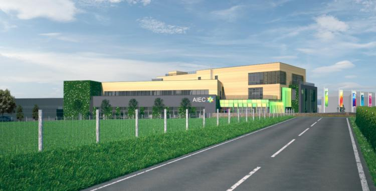 View of the proposed Aberystwyth Innovation and Enterprise Campus