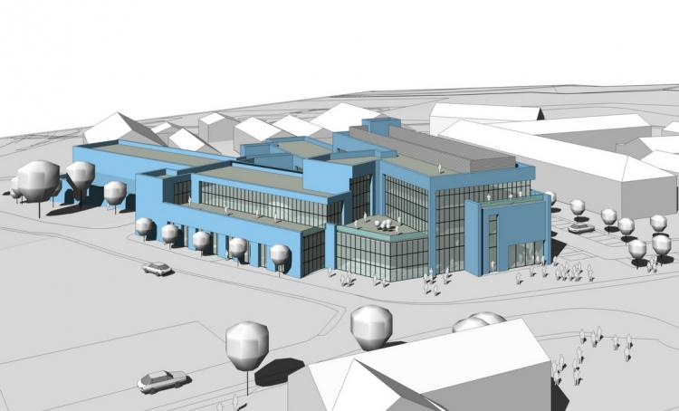 The proposed Aberystwyth Innovation and Enterprise Campus