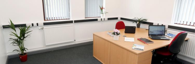 Office space at AberInnovation